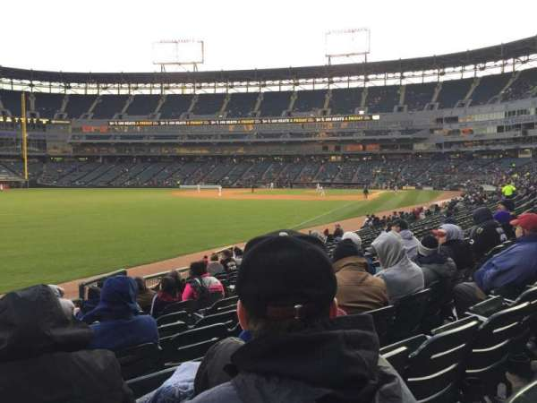 Guaranteed Rate Field, section: 154, row: 14, seat: 10