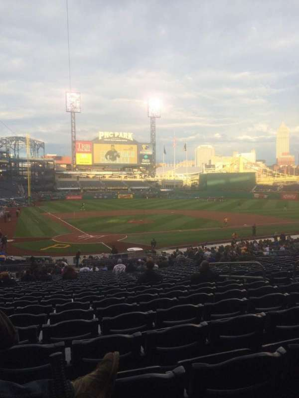PNC Park, section: 114, row: Z, seat: 26