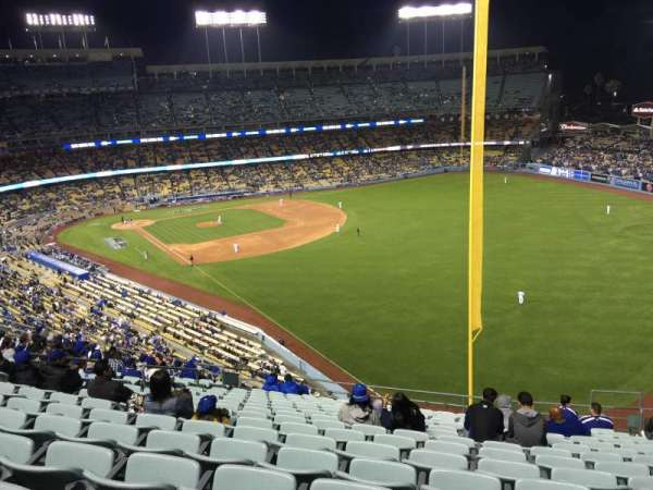 Dodger Stadium, section: 52RS, row: P, seat: 14