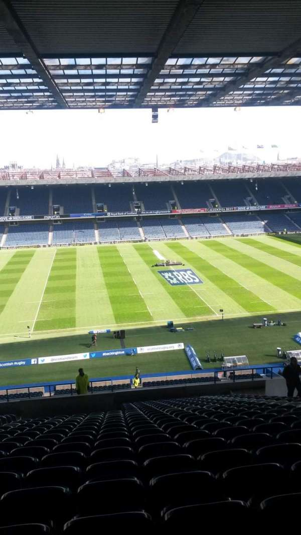 Murrayfield Stadium, section: W28, row: MM, seat: 1