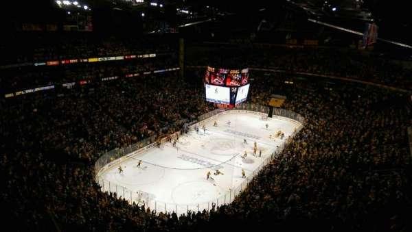Bridgestone Arena, section: 304, row: P, seat: 18