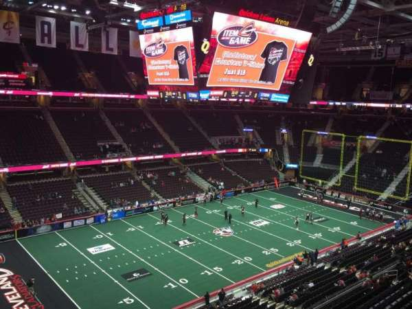 Quicken Loans Arena, section: 205, row: 1, seat: 2