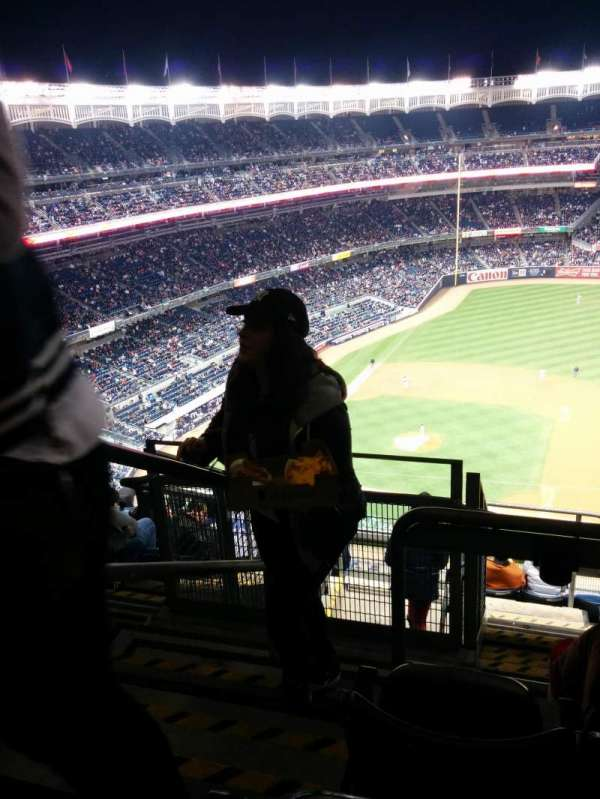 Yankee Stadium, section: 415, row: 7, seat: 24