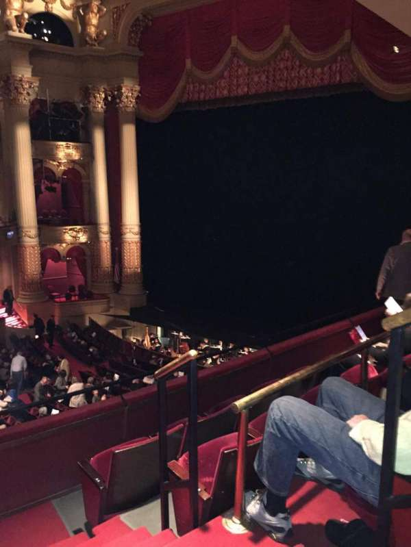 Academy of Music, section: Balcony C, row: B, seat: 34
