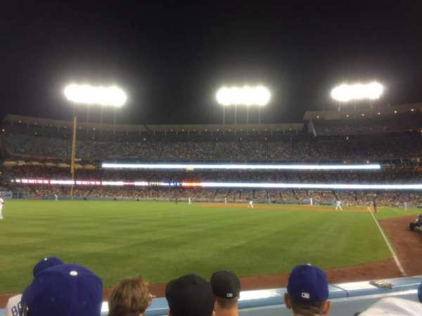 Dodger Stadium, section: 51FD, row: C, seat: 3