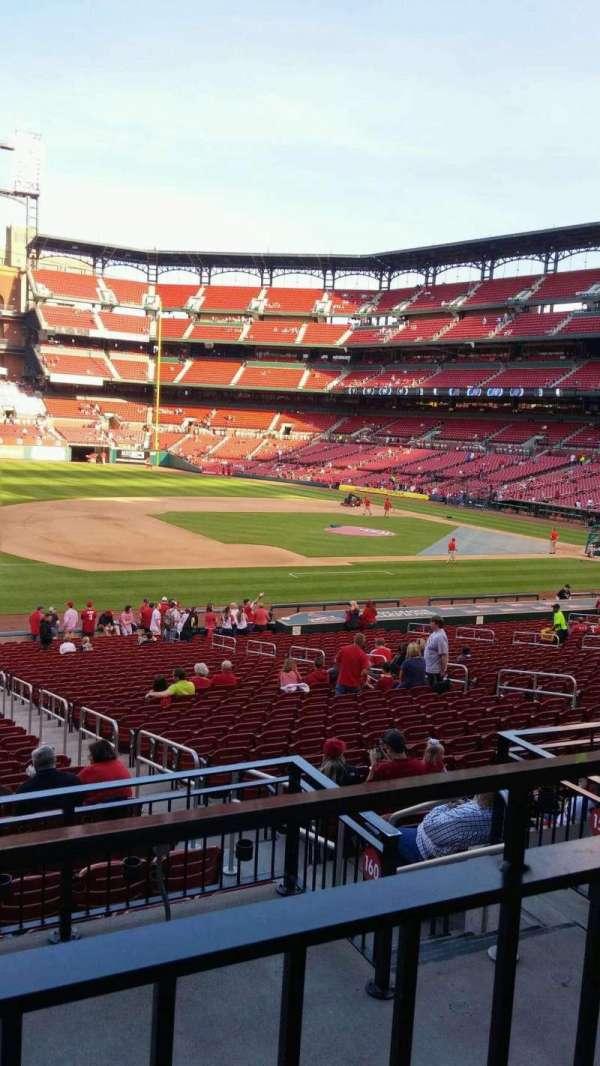 Busch Stadium, section: 160, row: 20, seat: 8