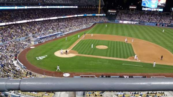 Dodger Stadium, section: preferred reserve mvp 16, row: A, seat: 1