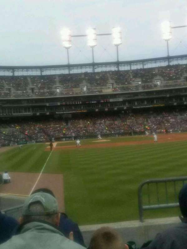 Comerica Park, section: 110, row: 36, seat: 5,6