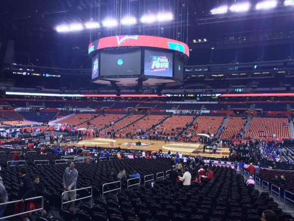 Lucas Oil Stadium, section: 111, row: OO