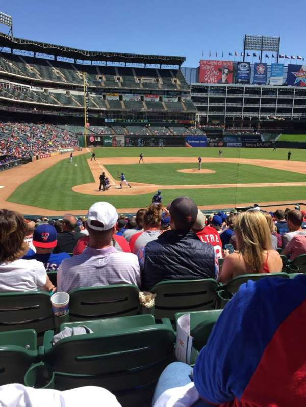Globe Life Park in Arlington, section: 30, row: 20, seat: 5