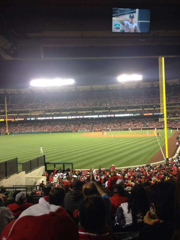 Angel Stadium, section: T201, row: G, seat: 4