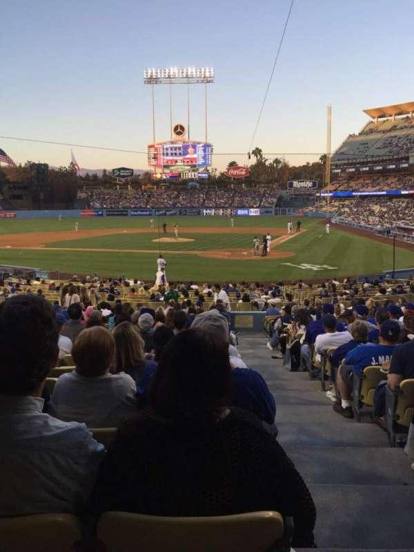 Dodger Stadium, section: 5FD, row: T, seat: 1