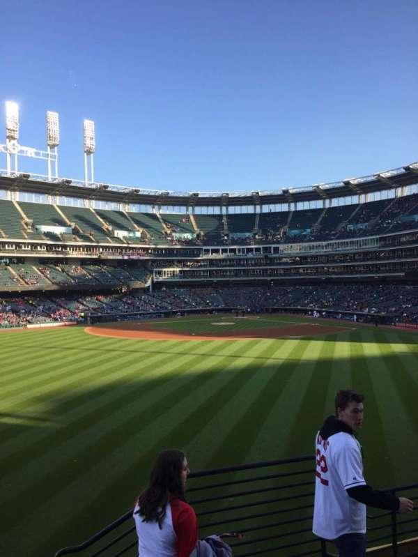 Progressive Field, section: 184, row: E, seat: 7