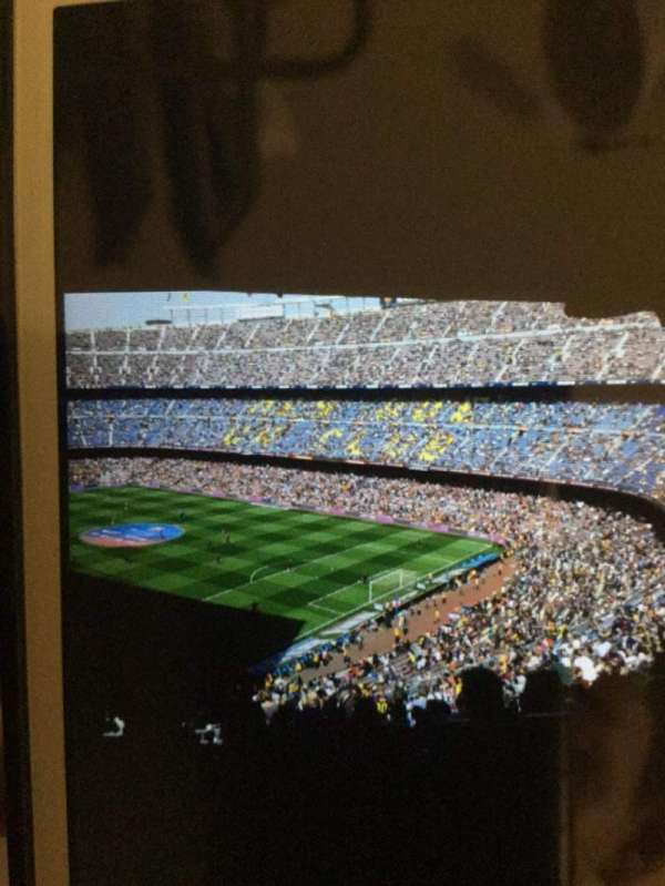 Camp Nou, section: 33, row: 23, seat: 1