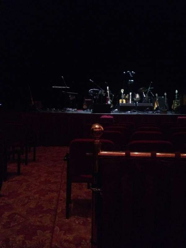 Wang Theatre, section: ORCH C, row: A, seat: 103