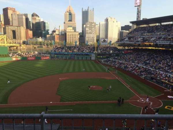 PNC Park, section: 222, row: B, seat: 11