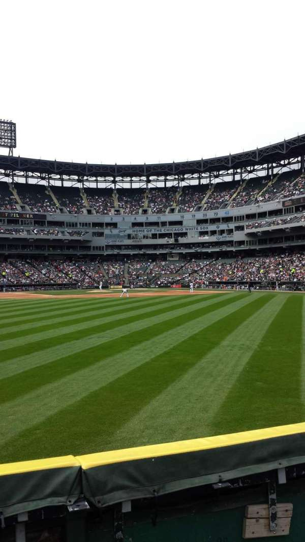 Guaranteed Rate Field, section: 160, row: 1, seat: 9,10