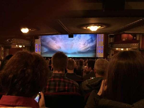 CIBC Theatre, section: orchestra c, row: z, seat: 102