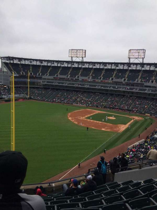 Guaranteed Rate Field, section: 555, row: 10, seat: 12