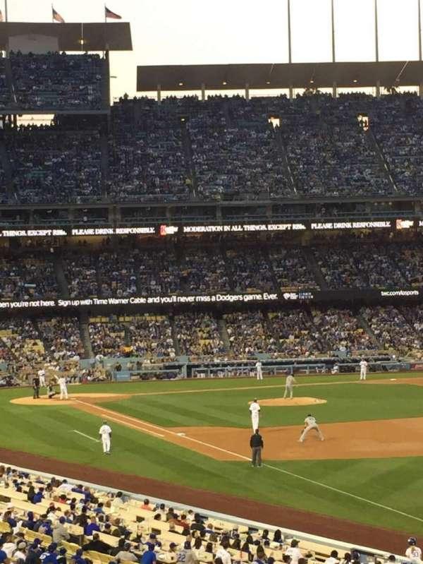 Dodger Stadium, section: 160LG, row: E, seat: 5