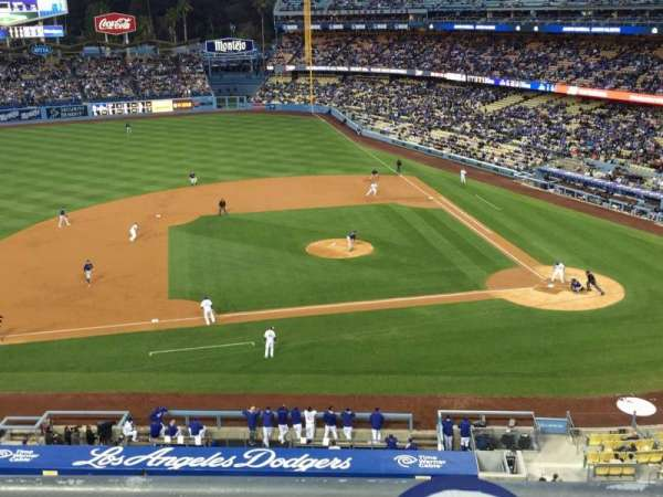 Dodger Stadium, section: 13RS, row: B, seat: 15-18