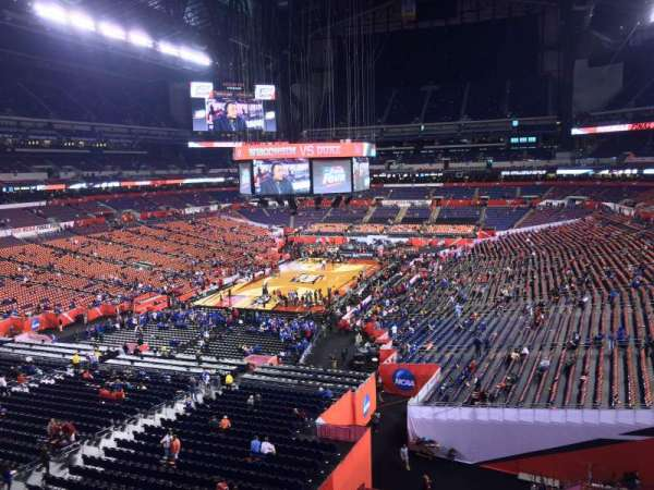 Lucas Oil Stadium, section: 450, row: 1, seat: 1