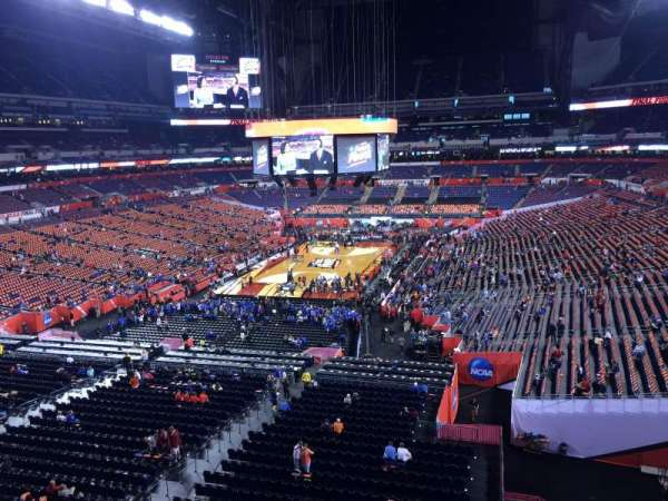 Lucas Oil Stadium, section: 451, row: 1, seat: 1