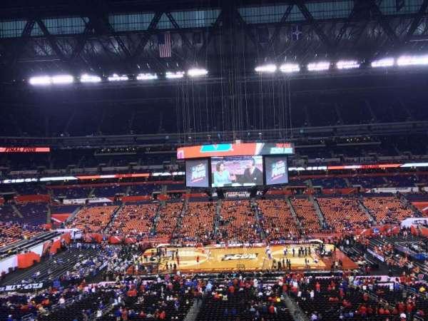 Lucas Oil Stadium, section: 440, row: 1, seat: 1