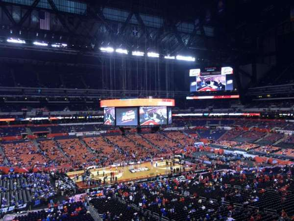 Lucas Oil Stadium, section: 443, row: 1, seat: 1