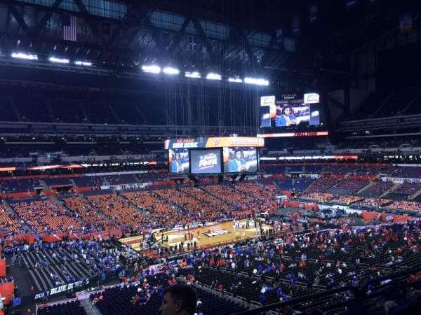 Lucas Oil Stadium, section: 444, row: 1, seat: 1