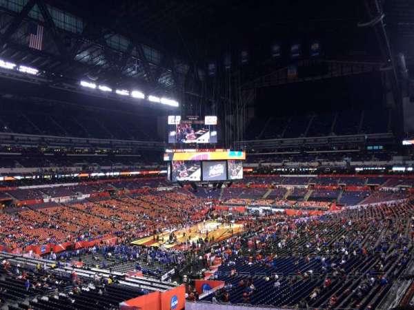 Lucas Oil Stadium, section: 449, row: 1, seat: 1