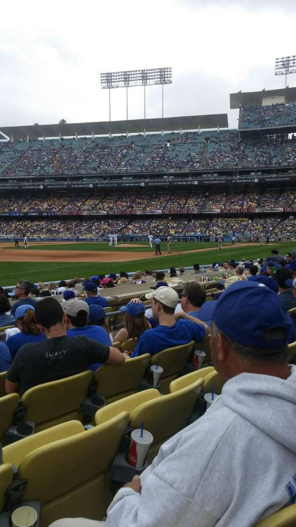 Dodger Stadium, section: 37fd, row: e, seat: 8