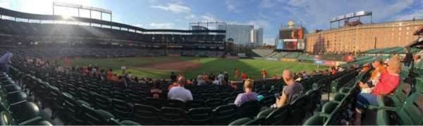 Oriole Park at Camden Yards, section: 16, row: 14, seat: 7