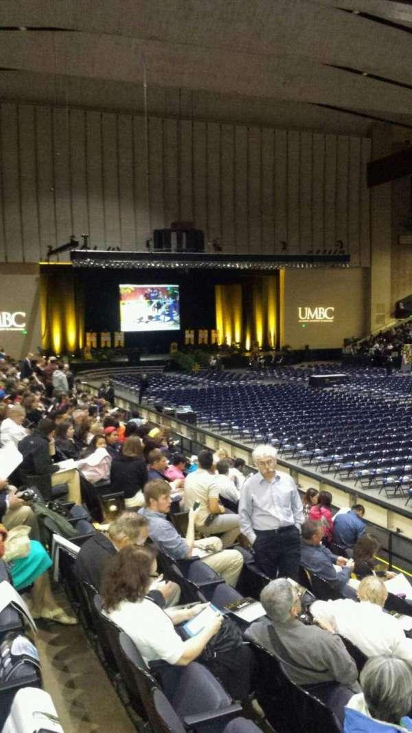 Royal Farms Arena, section: 113, row: I, seat: 1-4