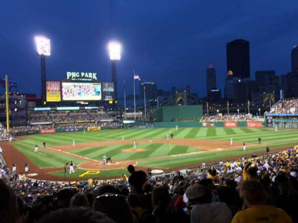 PNC Park, section: 115, row: EE, seat: 11
