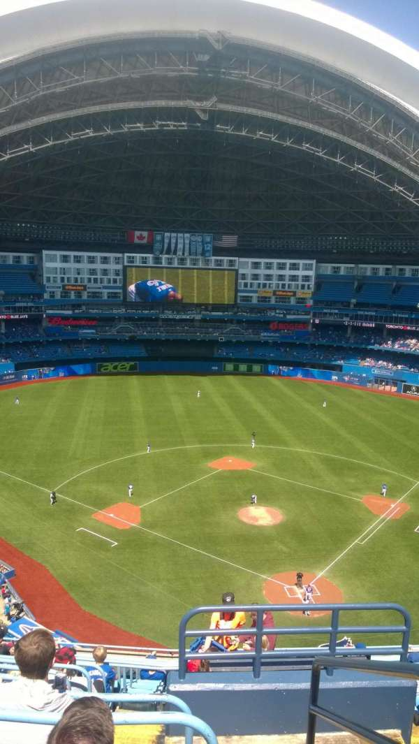 Rogers Centre, section: 525L, row: 13, seat: 101