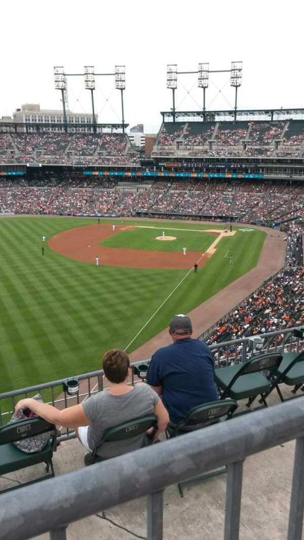 Comerica Park, section: 344, row: 1, seat: 19