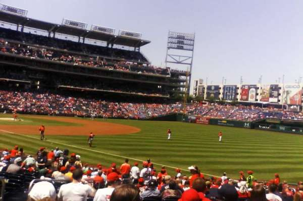 Nationals Park, section: 135, row: BB, seat: 16