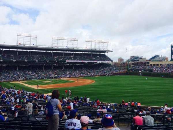 Wrigley Field, section: 240, row: 14, seat: 101