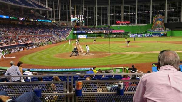 Marlins Park, section: 11, row: C, seat: 9