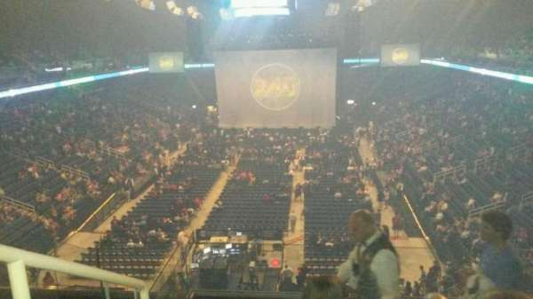 Greensboro Coliseum, section: 222, row: H, seat: 14