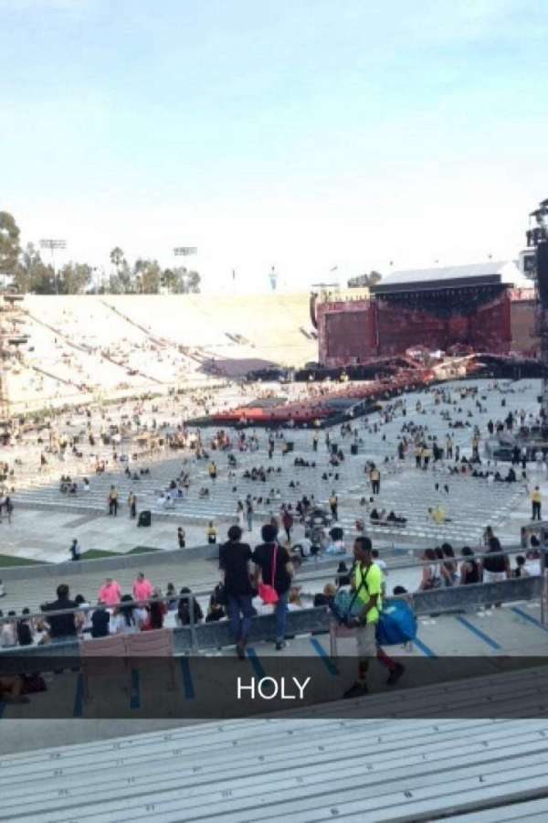 Rose Bowl, section: 14-L, row: 40, seat: 12