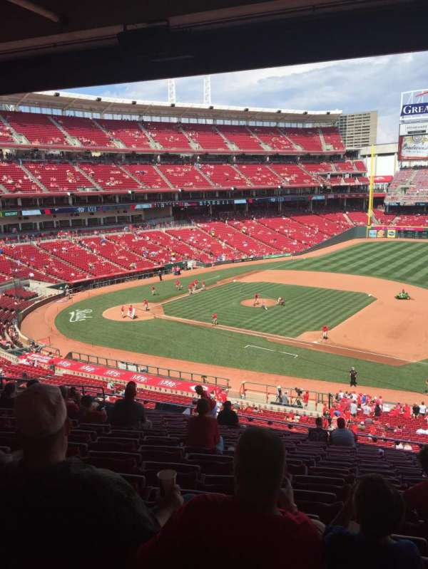 Great American Ball Park, section: 304, row: N, seat: 5