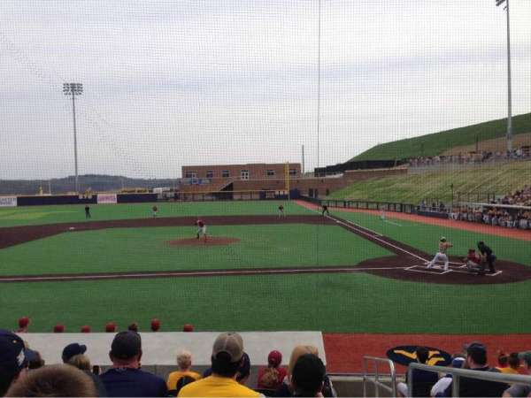 Monongalia County Ballpark, section: 102B, row: J, seat: 24