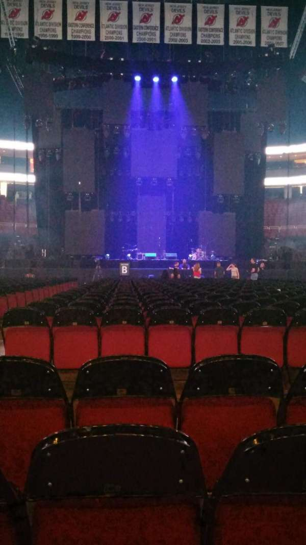 Prudential Center, section: E, row: 4, seat: 12
