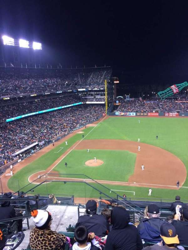 Oracle Park, section: VR307, row: 6, seat: 22