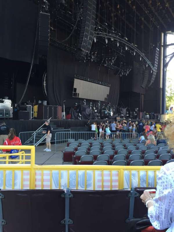Jiffy Lube Live, section: 103, row: C, seat: 34