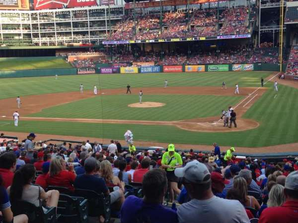 Globe Life Park in Arlington, section: 23, row: 29, seat: 4