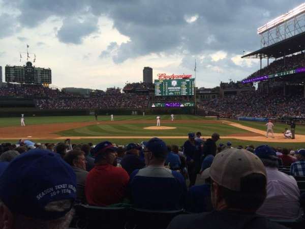 Wrigley Field, section: 113, row: 4, seat: 5