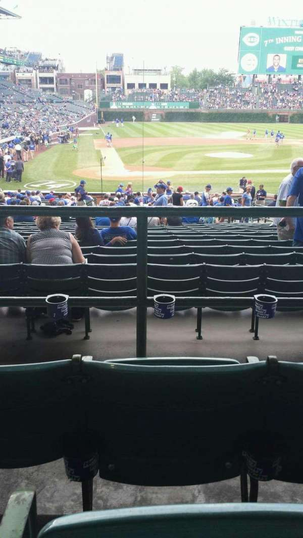 Wrigley Field, section: 221, row: 3, seat: 21